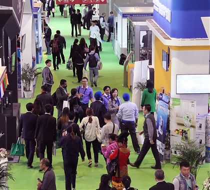 Pavilion of Russian exporters at China International Health Industry Expo